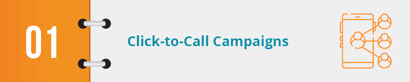 Check out this nonprofit advocacy example for click-to-call campaigns.
