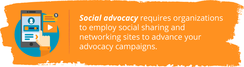 Effective nonprofit advocacy campaigns employ the use of social advocacy, which requires organizations to employ social sharing and networking sites to enhance campaigns.