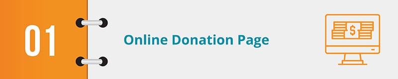 Online donations for nonprofits can be boosted by simply having an effective donation page.