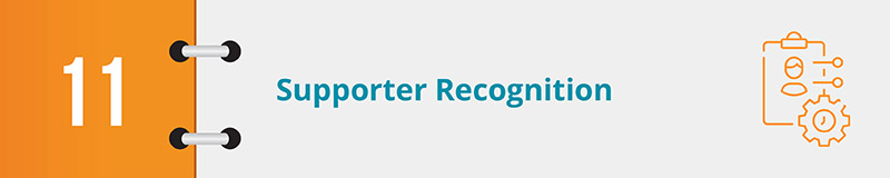 Recognize supporters to drive more online donations for nonprofits.