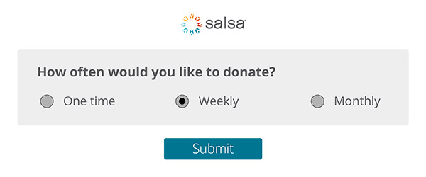Recurring donations can help boost online donations for nonprofits.