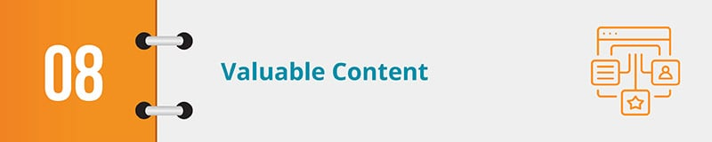 Valuable content will help drive online donations for nonprofits.