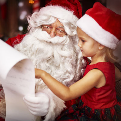 A pictures with Santa fundraiser is a great fundraising idea for your religious organization.