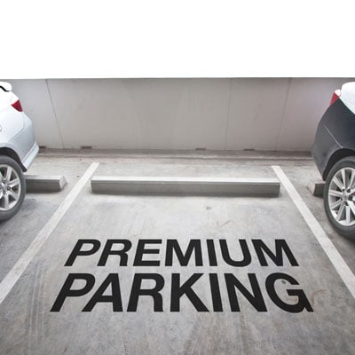 Use premium parking passes to fundraise.