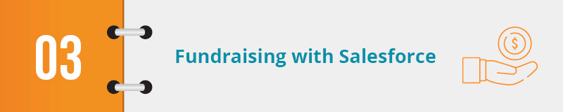 How do you execute fundraising with Salesforce for nonprofits?