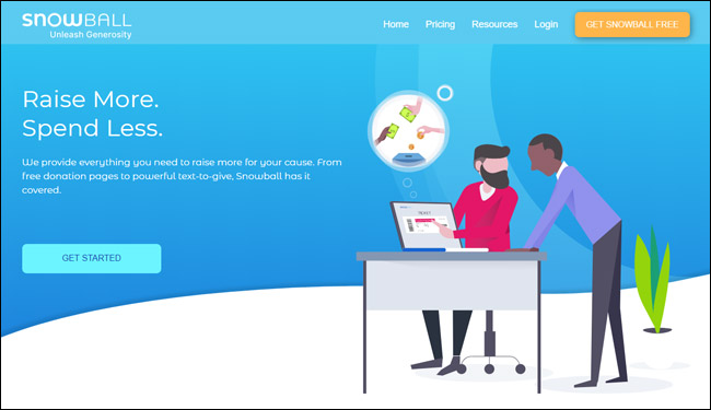 Check out Snowball's mobile fundraising software for nonprofits.