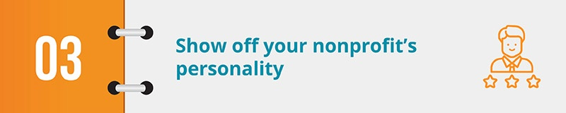 Show off your nonprofit's personality in a lighthearted year-end campaign video.