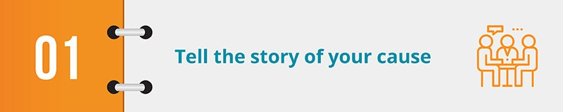 Use your year-end campaign video to tell a story that your donors can relate to.