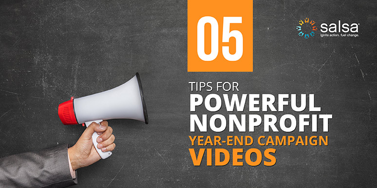 Follow our tips for a year-end campaign video that ignites interest in your cause and raises donations.