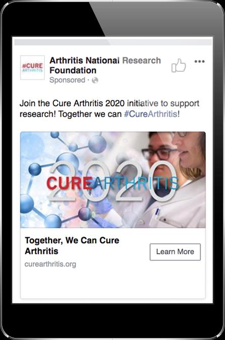 ARF Facebook Ad