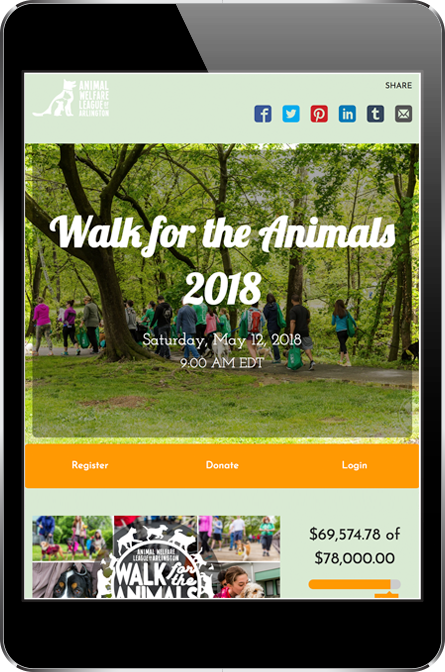 Animal Welfare League of Arlington Page