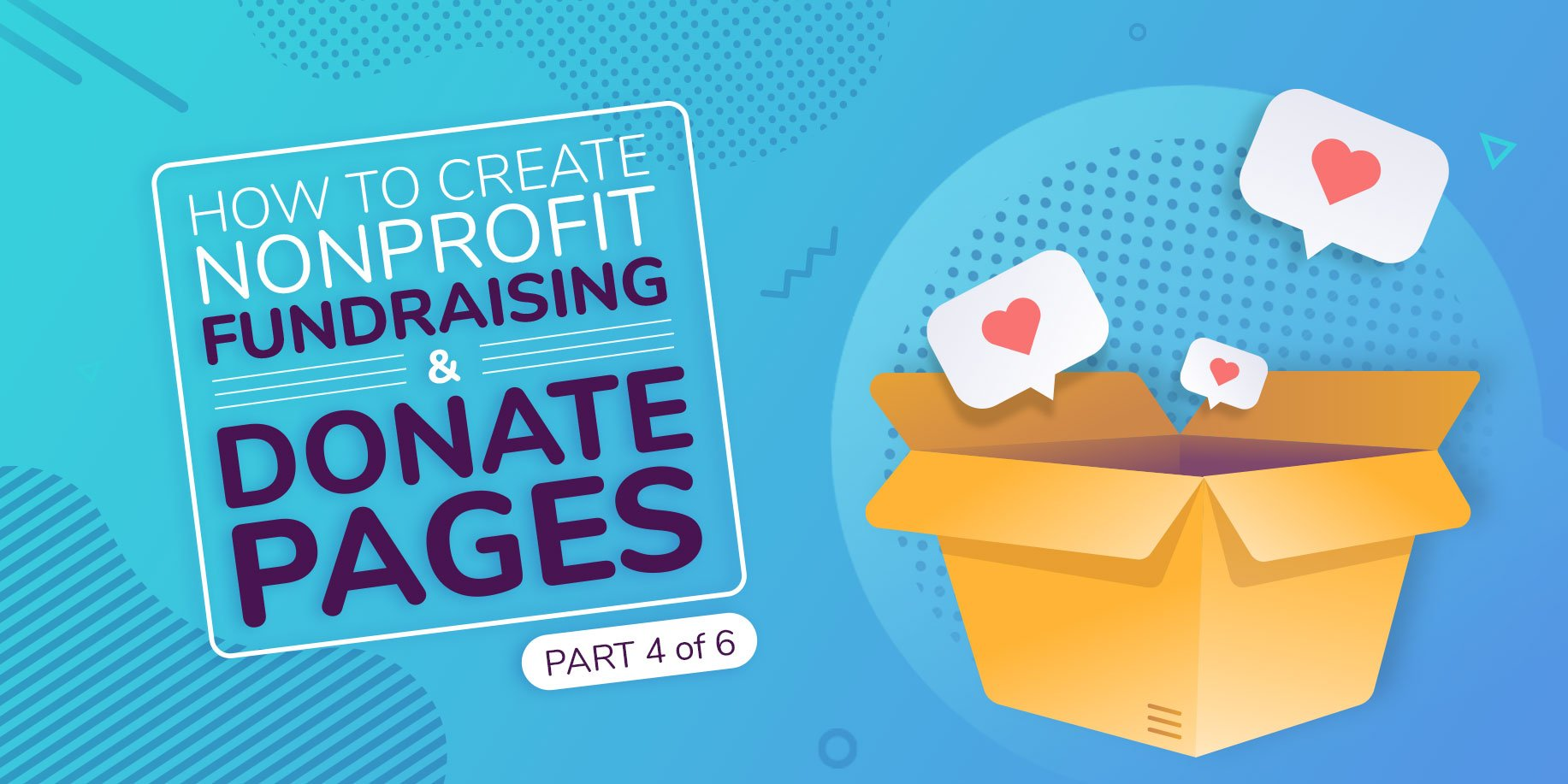How to Create Nonprofit Website Fundraising and Donate Pages
