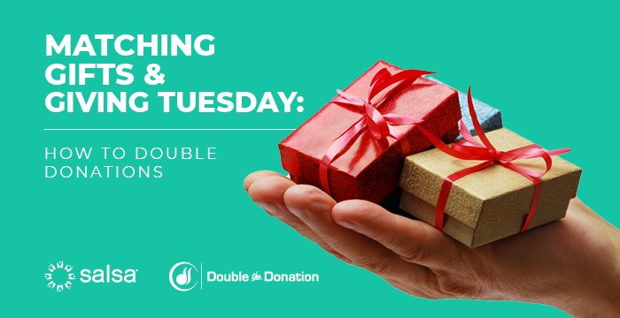 Matching Gifts & Giving Tuesday: How to Double Donations